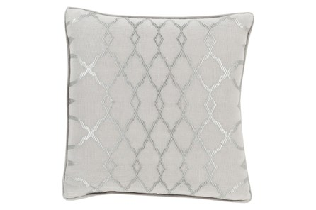 Accent Pillow-Karissa Grey 18X18 - Main