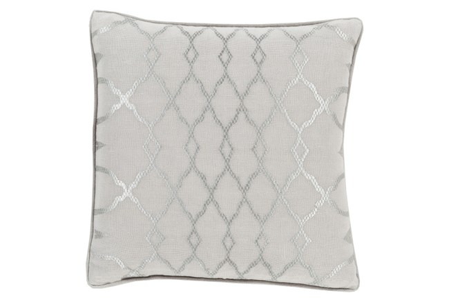 Accent Pillow-Karissa Grey 18X18 - 360