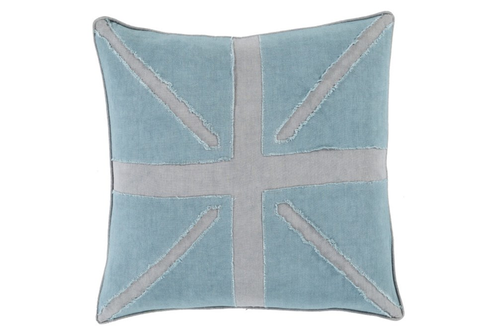 Accent Pillow-United Aqua 18X18