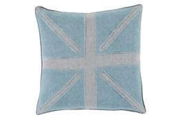 Accent Pillow-United Aqua 18X18