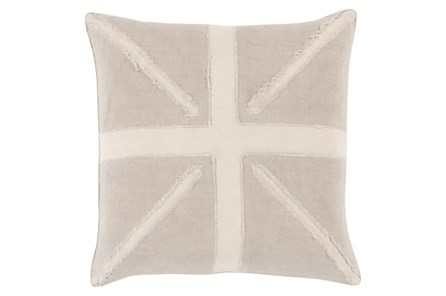 Accent Pillow-United Taupe 20X20 - Main