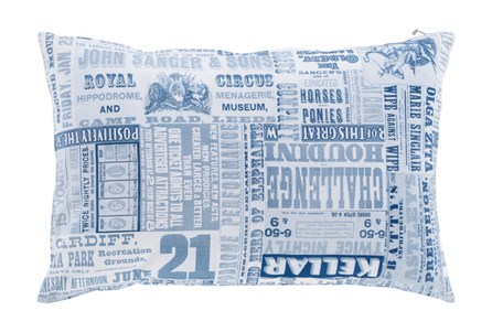Accent Pillow-Verbosity Blue 13X20
