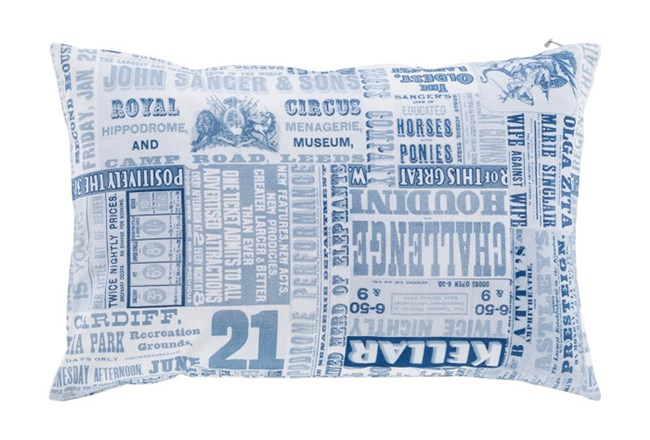 Accent Pillow-Verbosity Blue 13X20 - 360