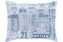 Accent Pillow-Verbosity Blue 18X18