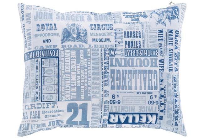 Accent Pillow-Verbosity Blue 18X18 - 360