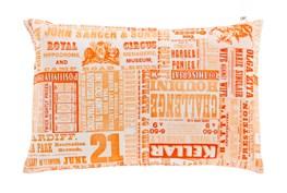 Accent Pillow-Verbosity Orange 13X20