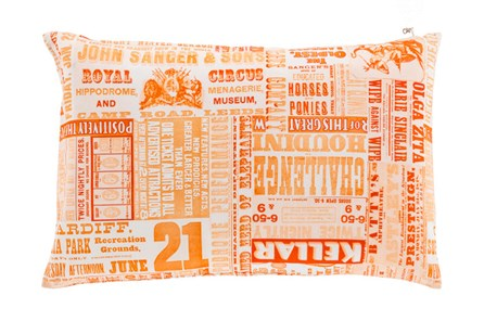 Accent Pillow-Verbosity Orange 13X20