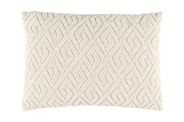 Accent Pillow-Tarnella Ivory 13X19