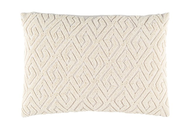 Accent Pillow-Tarnella Ivory 13X19 - 360