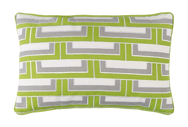 Accent Pillow-Riley Lime 13X20 - 360