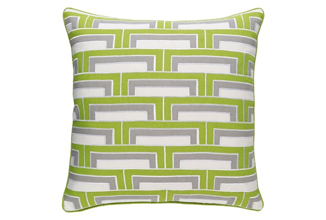 Accent Pillow-Riley Lime 20X20 - 360