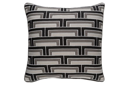 Accent Pillow-Riley Charcoal 20X20 - Main