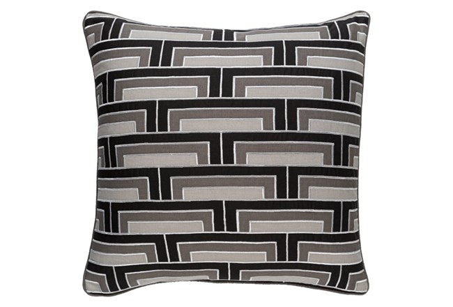 Accent Pillow-Riley Charcoal 20X20 - 360