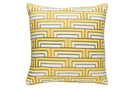 Accent Pillow-Riley Sunflower 20X20