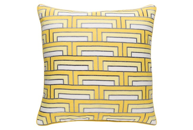 Accent Pillow-Riley Sunflower 20X20 - 360