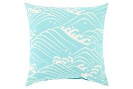 Accent Pillow-Lilu Aqua 18X18