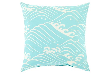Accent Pillow-Lilu Aqua 20X20