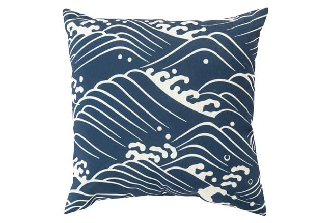 Accent Pillow-Lilu Navy 18X18 - 360