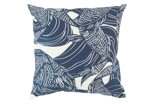 Accent Pillow-Jengo Navy 20X20 - 360