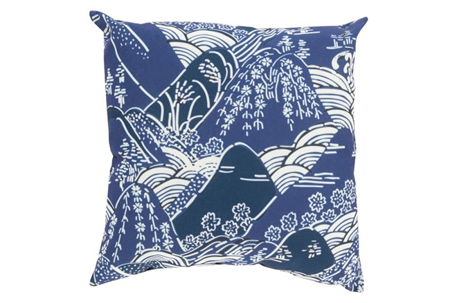 Accent Pillow-Jelani Navy 20X20 - 360