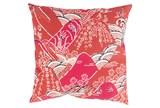 Accent Pillow-Jelani Red 18X18 - Signature