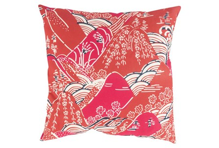 Accent Pillow-Jelani Red 18X18