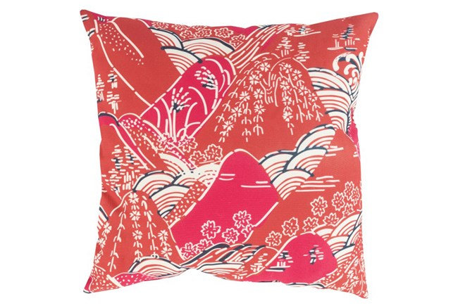 Accent Pillow-Jelani Red 18X18 - 360