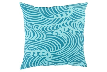 Accent Pillow-Mosi Teal 18X18