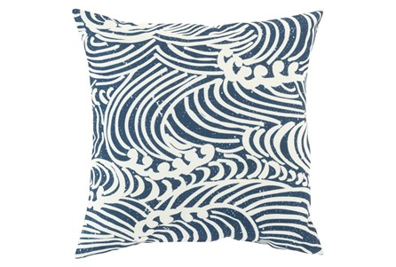 Accent Pillow-Mosi Navy 18X18