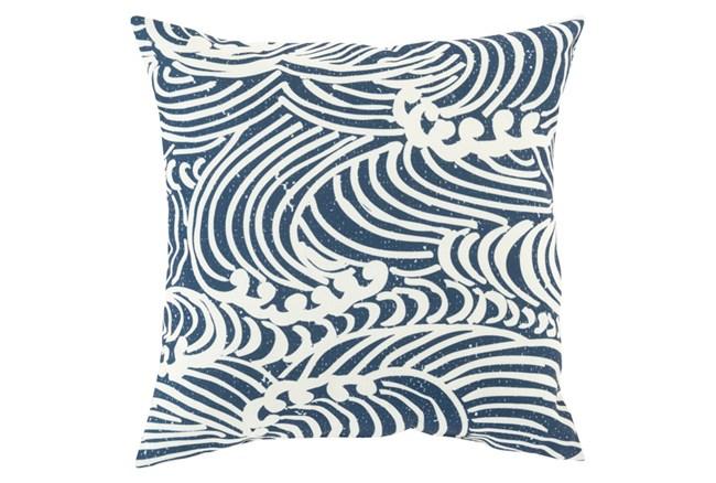 Accent Pillow-Mosi Navy 18X18 - 360