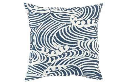 Accent Pillow-Mosi Navy 20X20 - Main