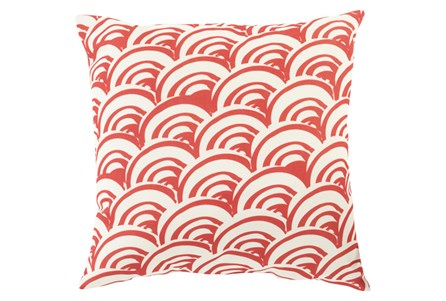 Accent Pillow-Nia Red 18X18