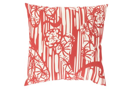 Accent Pillow-Zury Red 18X18