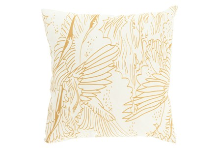 Accent Pillow-Nuru Gold 18X18