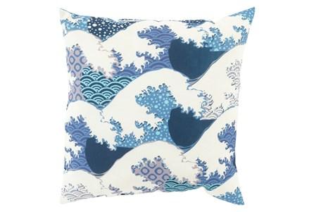 Accent Pillow-Nyah Blue 20X20