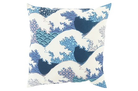 Accent Pillow-Nyah Blue 20X20 - Main