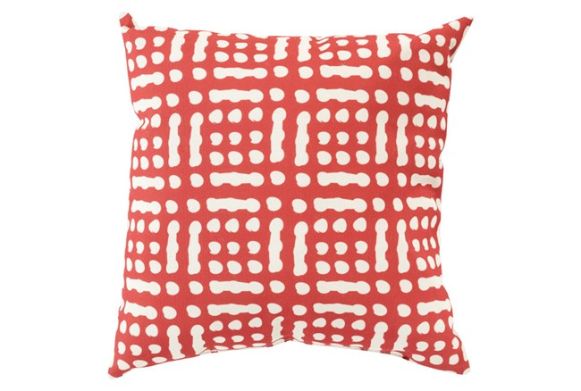 Accent Pillow-Eshe Red 18X18 - 360