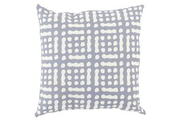 Accent Pillow-Eshe Grey 18X18