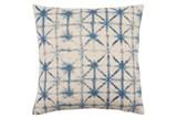 Accent Pillow-Luna Cobalt 18X18 - Signature