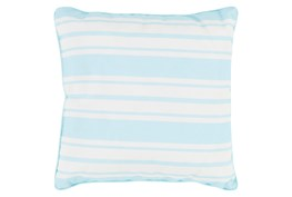Accent Pillow-Sea Breeze Stripe Teal 20X20