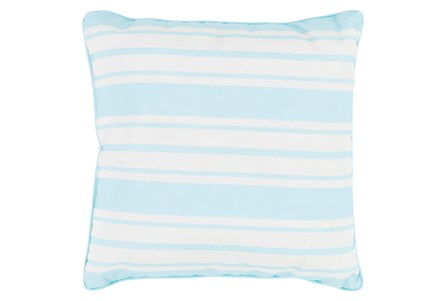 Accent Pillow-Sea Breeze Stripe Teal 20X20