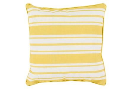 Accent Pillow-Sea Breeze Stripe Gold 16X16