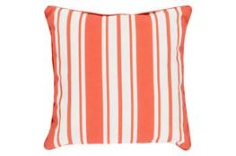 Accent Pillow-Sea Breeze Stripe Rust 16X16