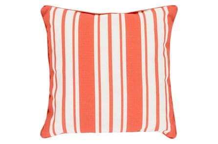 Accent Pillow-Sea Breeze Stripe Rust 20X20