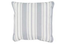 Accent Pillow-Sea Breeze Stripe Grey 20X20