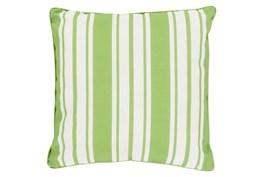 Accent Pillow-Sea Breeze Stripe Lime 20X20
