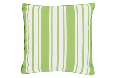Accent Pillow-Sea Breeze Stripe Lime 20X20