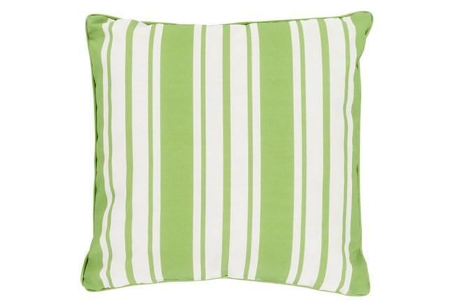 Accent Pillow-Sea Breeze Stripe Lime 20X20 - 360