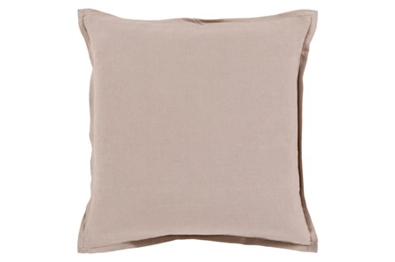 Accent Pillow-Clara Taupe 22X22 - Main