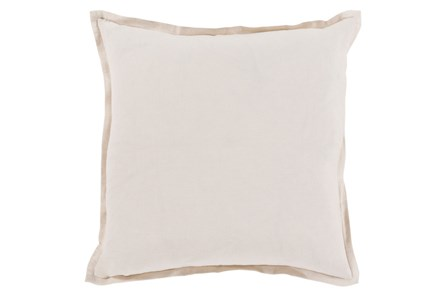 Accent Pillow-Clara White 20X20 - Main